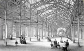 Drawing of the Pannier Market