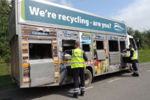 Recycling News.png Business as usual wherever possible at NDC