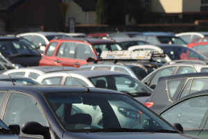photo of cars in car park Car park permits extended to cover lockdown period