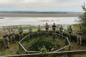Chivenor Commandos.png Commandos help make improvements to Tarka Trail