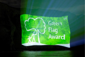 Green Flag logo.png North Devon celebrates as parks and green spaces win Green Flag Award